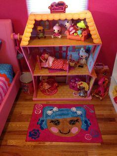 Lalaloopsyland u2014 Skylaru0027s bedroom! & Lalaloopsy Bed and Table | Lalalovely Living | Pinterest ...