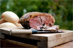 Slow roast pork shoulder with herb rub. Photo: Andrew Testa for The New York Times