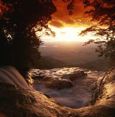 ✭ A view of Sanje Falls from the top, in Udzungwa National Park - Tanzania, Africa