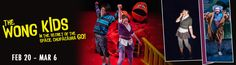 The Wong Kids in the Secret of the Space Chupacabra Go!  ArtsEmerson Production Boston MA
