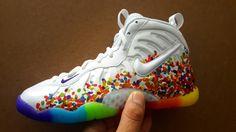 Fruity Pebble Foamposite : Sneakers
