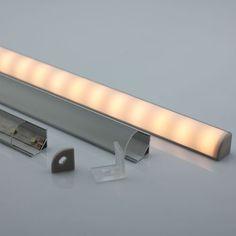 Corner LED Light Strip Aluminium Profile