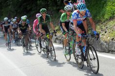 Gallery: 2014 Giro d'Italia, Stage 18 - Ryder Hesjedal (Garmin-Sharp) stayed with the GC contenders for most of the final climb. Hesjedal lost contact close to the finish giving up twelve seconds to Quintana. Photo: Tim De Waele | TDWsport.com