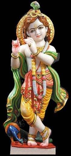 Lord Krishna Hindu God Statues - kinds of religious as Hindu, Muslim, Sikh or Christen