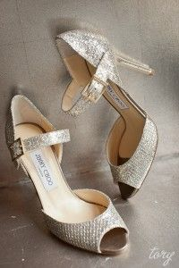 sparkly heels for the holidays :)
