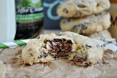 Irish Cream Triple Chocolate Chunk Cookies