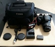 Canon EOS Rebel T5 18.0MP Digital SLR Camera and Lens
