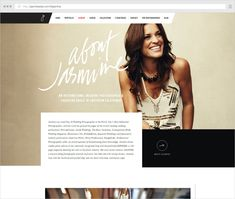 how to write a bio for a photography website