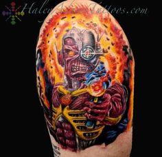 Tattoos - Iron Maiden Tattoo - 109312