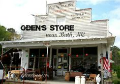 Oden's Old country store near Bath NC is chock full of antiques and junk. Great day trip in eastern NC | chloesblog.bigmill.com