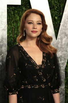 Haley Bennett at the Vanity Fair Oscar Party at Sunset Tower  in West Hollywood, California #beauty #makeup #celebrity