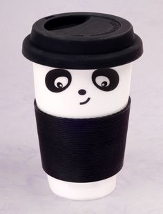 This will be a perfect gift for my BFF!   Panda Coffee Cup US$12.95