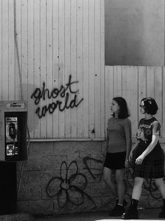 Enid & Rebecca in Ghost World