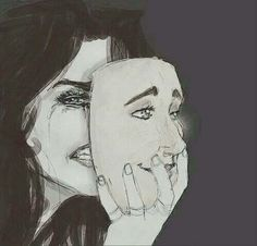 Put on your fake smile and wipe away your real tears
