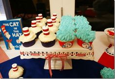 Dr. Suess birthday party// baby shower