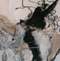 Dominique verburgh- Acrylique et pastel sur papier