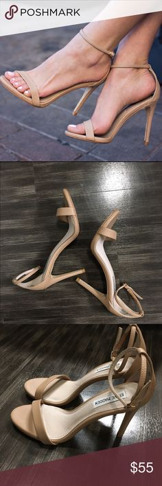 "Steve Madden ""stecy"" Great condition. Worn once, like new. Steve Madden Shoes Heels"