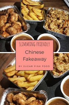 Slimming World Fakeaway Recipe, Chinese Chicken Balls, Chips, Egg Fried Rice & Curry Sauce! Slimming World Speed Food, Slimming World Diet Plan, Slimming World Dinners, Slimming World Chicken Recipes, Slimming World Recipes Syn Free, Slimming Eats, Spicy Recipes, Cooking Recipes, Healthy Recipes