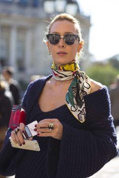 streetstyle-stickad-troja-scarf