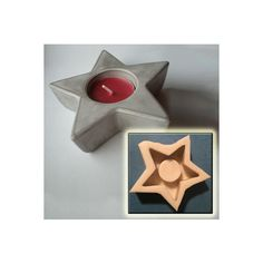 Silicone Molds for decorations and jewelry by MOLDUM Handmade Candles, Handmade Gifts, Five Pointed Star, Tea Candles, Tealight Candle Holders, Candlesticks, Silicone Molds, Creative Ideas, Etsy Seller