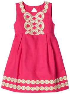 Lilly Pulitzer girls Adelson shift dress, the perfect little party dress.