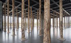 David Chipperfield Sticks and Stones, eine Intervention. Installationsansicht. Foto: David von Becker
