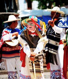 The Danza de los Viejitos is a traditional folklore dance from Michoacan.