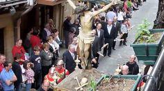 Todo preparado en Hondarribia para la Semana Santa 2017 Procesión del Silencio,  Viernes Santo. El Viernes Santo y el Domingo de Resurreción volverán a ser los platos fuertes.
