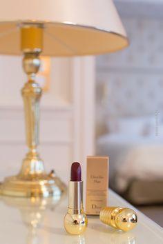 Beauty Blog - Dior Lippenstift Diorific Mat Troublante - dunkler Lippenstift - Makeup-Blogger und Beauty-Blogger - Produkttest Lippenstifte - Beste rote Lippenstifte - Matt und Glänzend