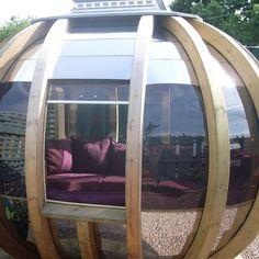 "Garden pod / summer house, ""deluxe"" version!"