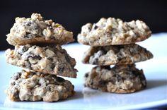 Oatmeal peanut butter dark chocolate cookies. Oh my. #cookies #chocolate #peanutbutter