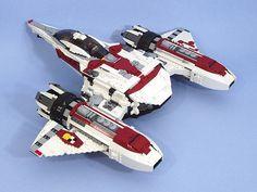 "https://flic.kr/p/3vtoyF | ArianasRevenge01 | The <i>Ariana's Revenge</i>, a heavily modified Mackenhoffer TGS-427 Naigoth star shuttle. See more <a href=""http://www.brickshelf.com/cgi-bin/gallery.cgi?f=280874"" rel=""nofollow"">here</a>."