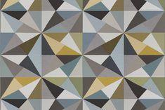Maharam Angles by Paul Smith 004 Citrine #Textile #DiamondPattern #MaharamCollaborator