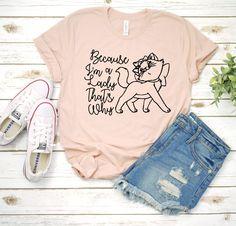 Disney / Marie / Aristocats / Magic Kingdom / Disney World / Disneyland / Mouse / T-Shirt / T Shirt / Tee / Shirt / Girls / Tank - Inspirational T Shirts - Ideas of Inspirational T Shirts - Disney World Outfits, Cute Disney Outfits, Disneyland Outfits, Cute Disney Shirts, Disney Fashion, Emo Outfits, Punk Fashion, Disney World Shirts, Skater Outfits