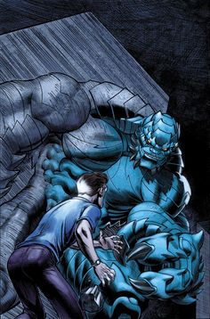 A-Bomb and Bruce Banner by Ed McGuinness ¤° Marvel ...HULK