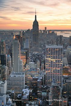New York City sunset | Flickr: Intercambio de fotos