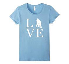 Love Orangutan Shirt- I Love Orangutans Monkey T Shirt