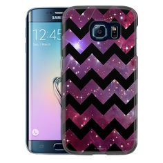 Samsung Galaxy S6 Edge Chevron Nebula Black Slim Case