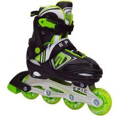 #Epic Skates Rage #Kids Adjustable Inline #Skates