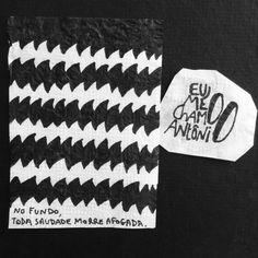 No fundo, toda saudade morre afogada   eu me chamo Antônio @eumechamoantonio
