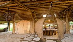 Spicytec: Beautiful 'Green Village' Build only using Bamboo