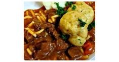 Recipe Hearty Beef Stew With Dumplings by aroma kitchen, learn to make this recipe easily in your kitchen machine and discover other Thermomix recipes in Main dishes - meat. Beef Stew With Dumplings, Thermal Cooker, Hearty Beef Stew, Kitchen Machine, Dumpling Recipe, Meat Recipes, Food Print, Mashed Potatoes, Main Dishes