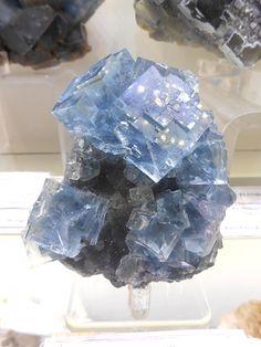 Fluorite, Mont Roc, Tarn, France