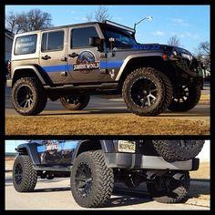 #jurassic World #jeep