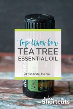 Do you love essential oils? Check out these top uses for Tea Tree Essential Oil. AKA Melaleuca. They are all amazing and super helpful!