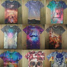 Galaxy#ティシャツ#lindo