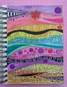 Rosie's Arty Stuff: HOW TO ART JOURNAL?