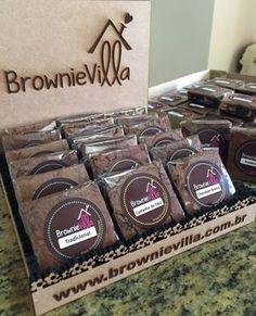 Cookies wedding chocolate chip 66 ideas for 2019 Bake Sale Packaging, Brownie Packaging, Cupcake Packaging, Dessert Packaging, Bakery Packaging, Food Packaging Design, Mini Brownies, Caramel Brownies, Best Brownies