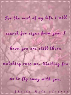 Miss you Jenny. Love you forever my daughter.