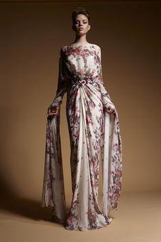 www.zuhairmurad.com, Zuhair Murad, Abaya, bisht, kaftan, caftan, jalabiya, Muslim Dress, glamourous middle eastern attire, takchita